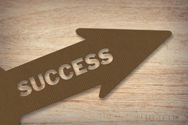 směr úspěchu