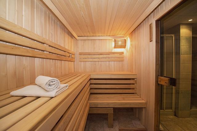 moderní sauna