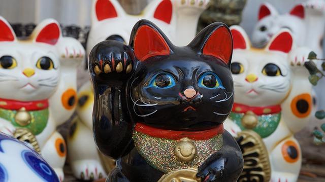 porcelánové kočky