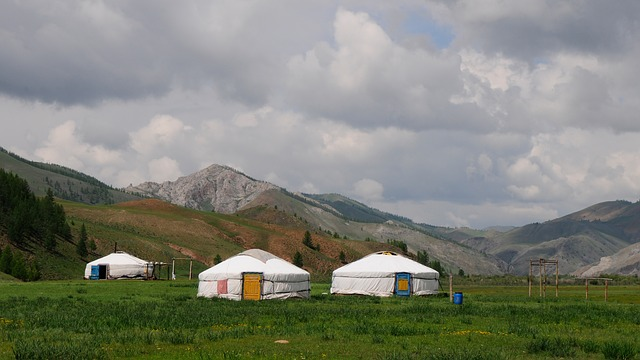 jurty v krajině