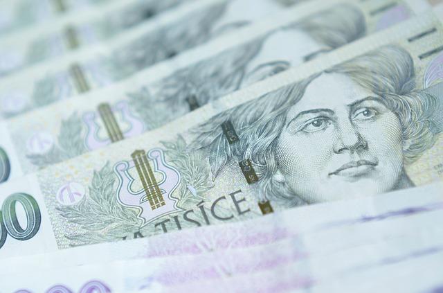 detail české tisícovky