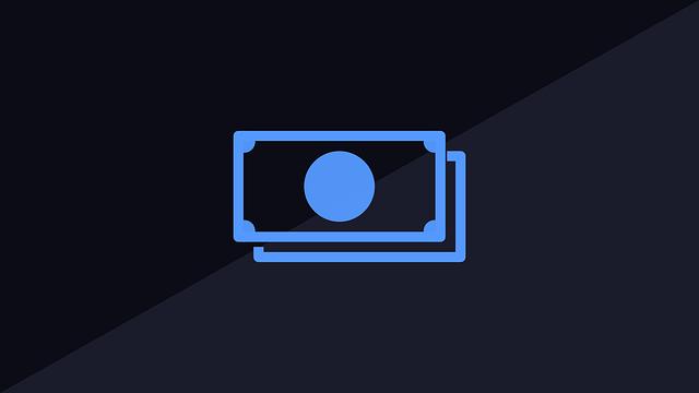 schematický nákres bankovek