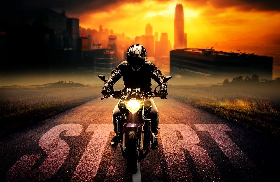 světlomet motorky