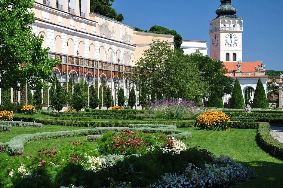 zámecká zahrada Mikulov